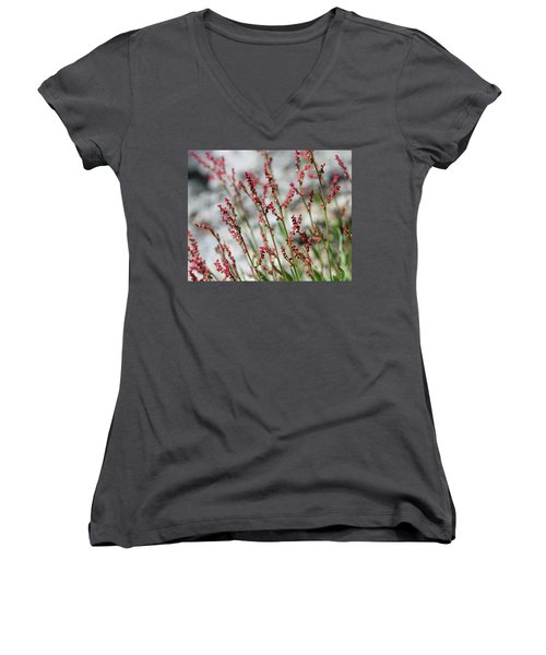 Crimson Field Women's V-Neck (Athletic Fit)