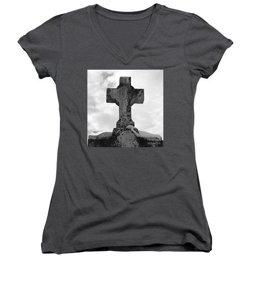 Cross Women's V-Neck T-Shirt