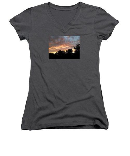 Crossing The Bar Women's V-Neck T-Shirt (Junior Cut)