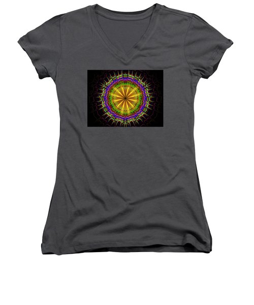 Crown Of Thornes Women's V-Neck (Athletic Fit)