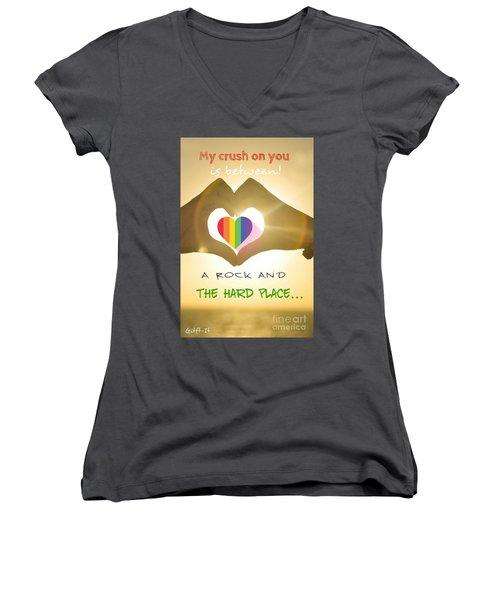 Crush  Women's V-Neck T-Shirt