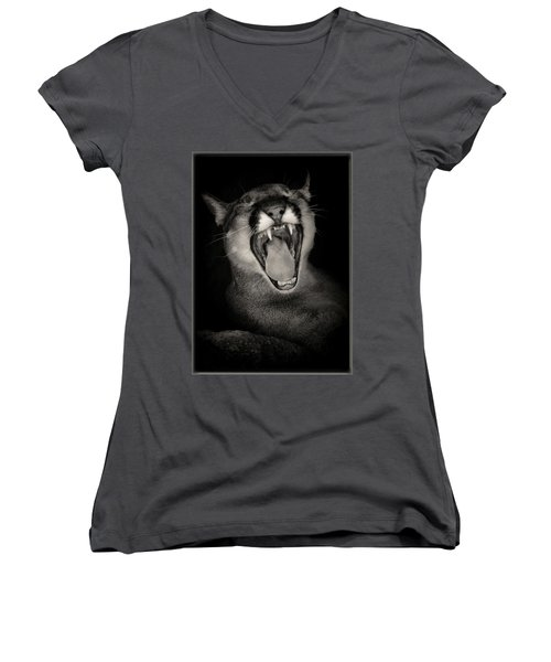 Cruz Yawning Women's V-Neck