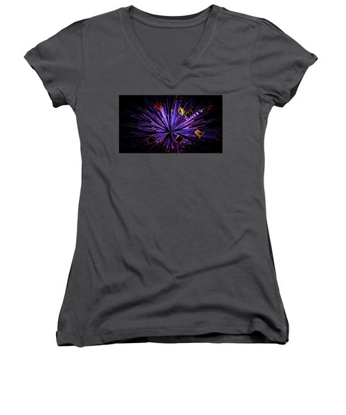 Crystal Reports Women's V-Neck