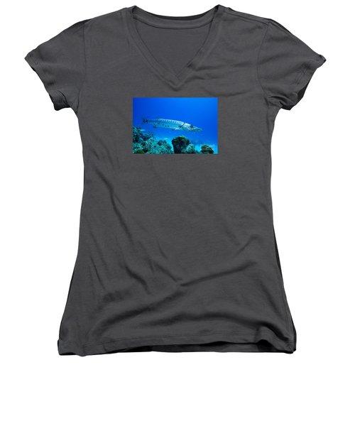 Shimmer  Women's V-Neck T-Shirt