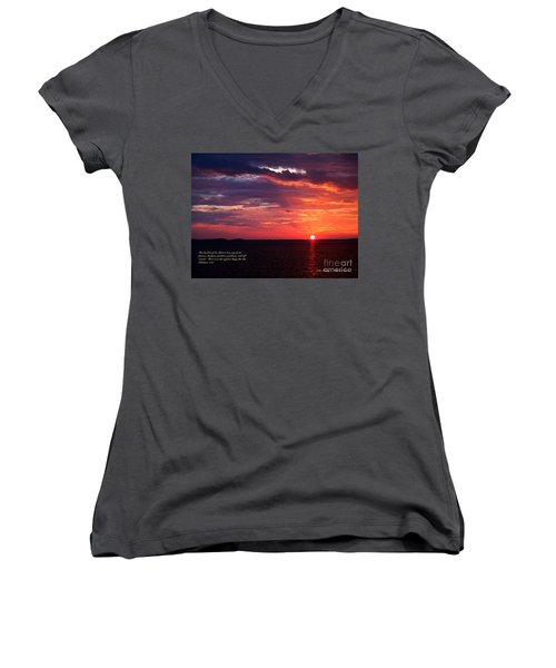Cumc Solstice Women's V-Neck (Athletic Fit)