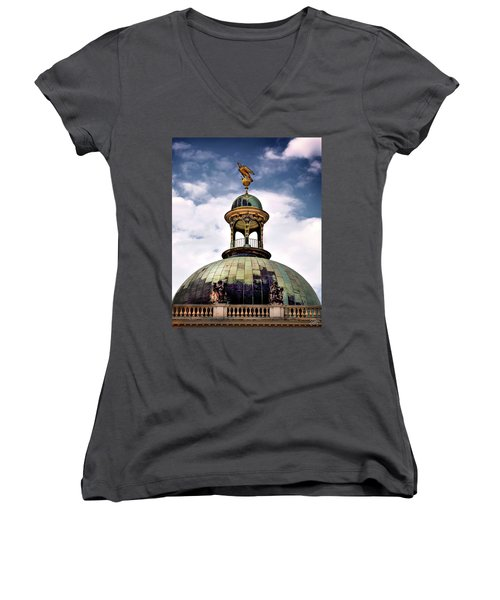 Cupola At Sans Souci Women's V-Neck