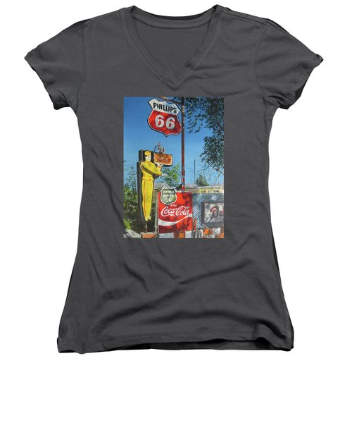 Curtain Call Women's V-Neck