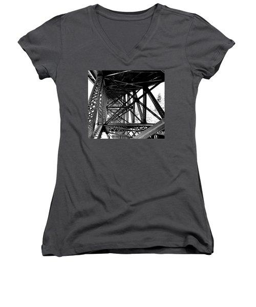Cut River Bridge Women's V-Neck