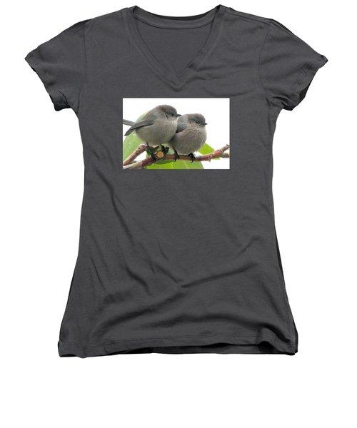 Cute Chicks Women's V-Neck T-Shirt (Junior Cut)