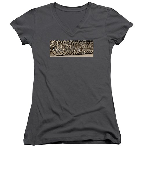 Cycles Women's V-Neck (Athletic Fit)