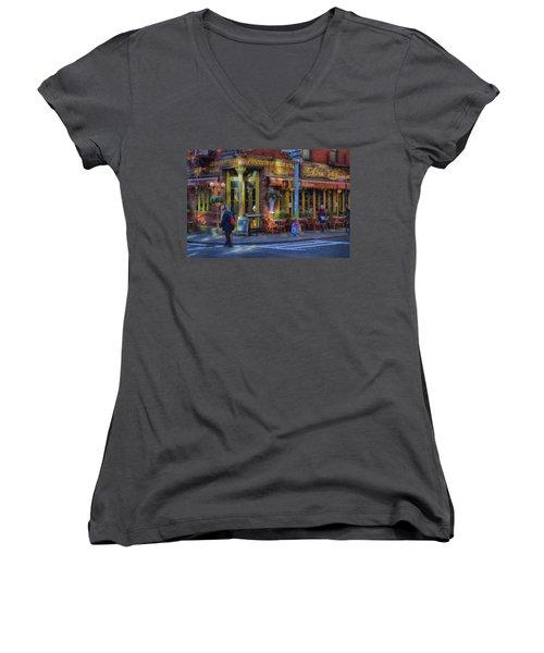 Da Gennaro Women's V-Neck T-Shirt (Junior Cut) by Dyle Warren