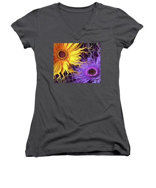 Daisy Yin Daisy Yang Women's V-Neck (Athletic Fit)