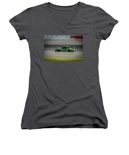 Dale Earnhardt At Mis 2017 Women's V-Neck T-Shirt