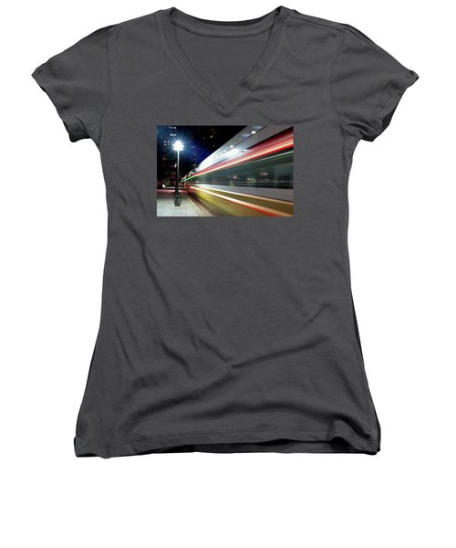 Dallas Dart Train 012518 Women's V-Neck