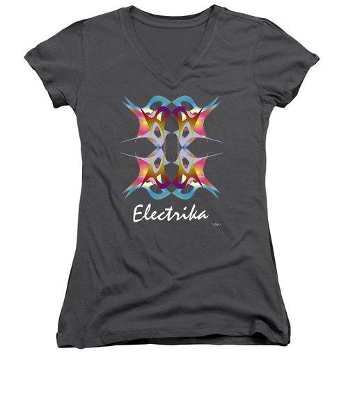 Dance Electric 3 Women's V-Neck