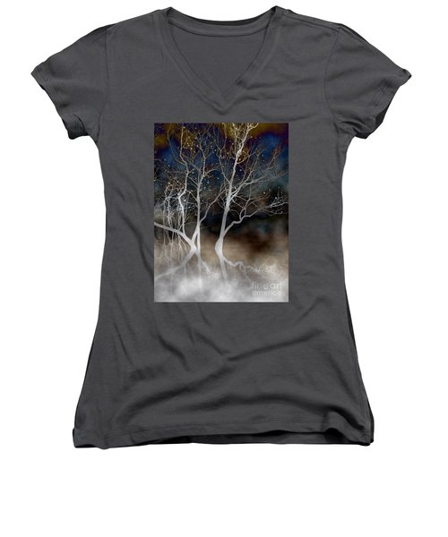 Dancing Tree Altered Women's V-Neck