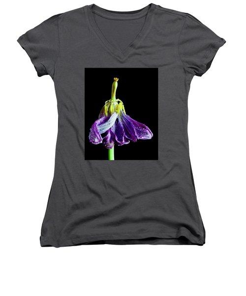 Dancing Tulip Women's V-Neck