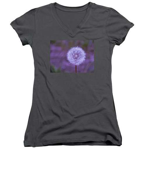 Dandelion Geometry Women's V-Neck
