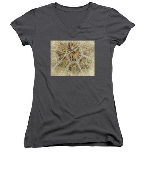 Dandelion Particles Women's V-Neck