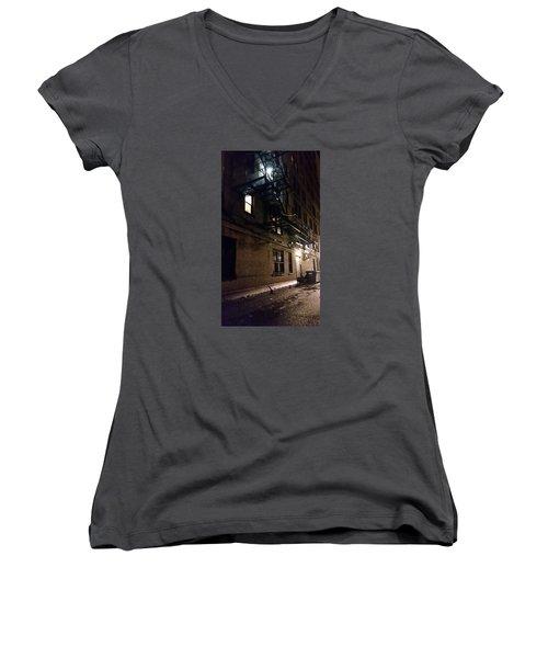 Dark And Rainy Night Women's V-Neck T-Shirt