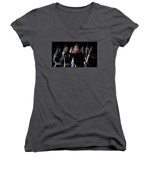 Dark Funeral Women's V-Neck T-Shirt