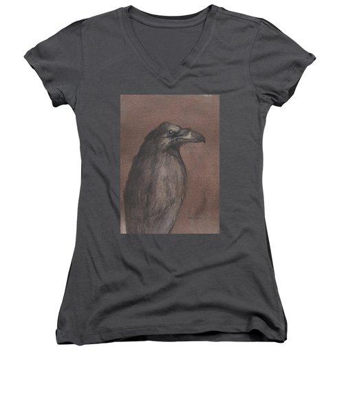 Dark Raven Women's V-Neck T-Shirt