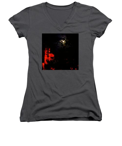 Darkness Women's V-Neck