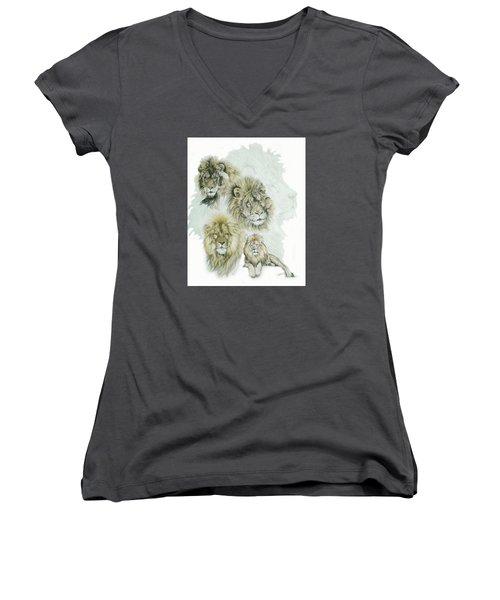 Dauntless Women's V-Neck T-Shirt (Junior Cut) by Barbara Keith