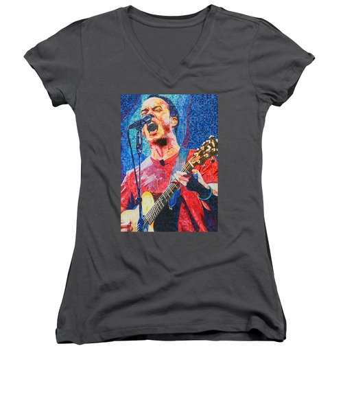 Dave Matthews Squared Women's V-Neck (Athletic Fit)