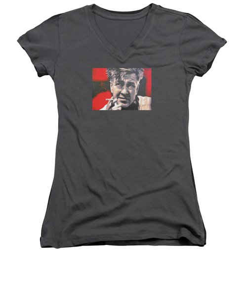 David Lynch Women's V-Neck T-Shirt