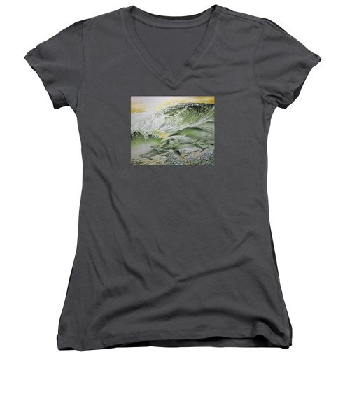 Dawn Patrol Women's V-Neck (Athletic Fit)