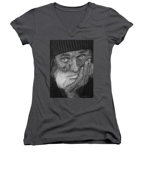 Day Dreaming Women's V-Neck T-Shirt