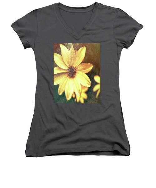 Day Lily Women's V-Neck (Athletic Fit)