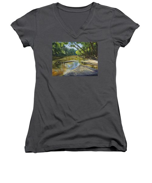 Day Off Women's V-Neck