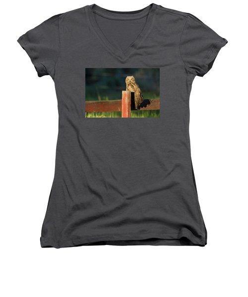 Day Walker Women's V-Neck T-Shirt