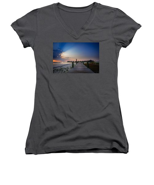 Daybreak Women's V-Neck T-Shirt