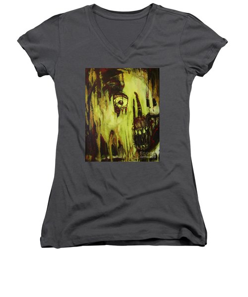 Dead Skin Mask Women's V-Neck