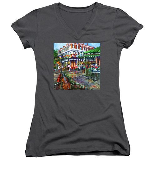 Decatur Street Women's V-Neck (Athletic Fit)