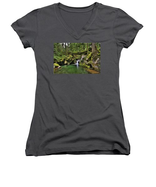 Deception Creek Women's V-Neck T-Shirt
