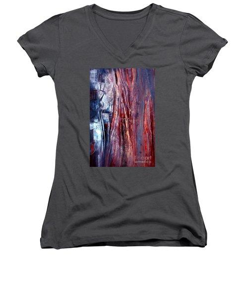Decision Time Women's V-Neck T-Shirt