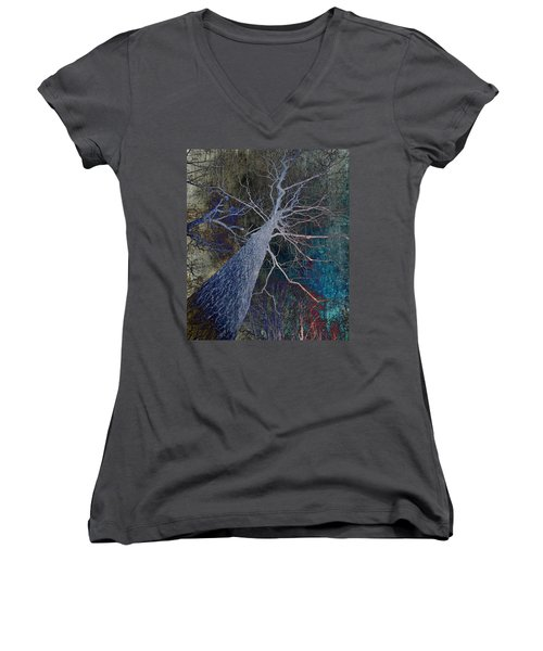Deep In The Woods Women's V-Neck