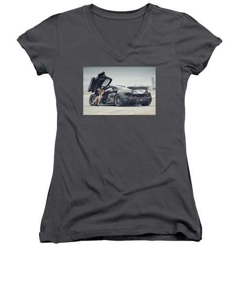 Deep Thoughts Women's V-Neck