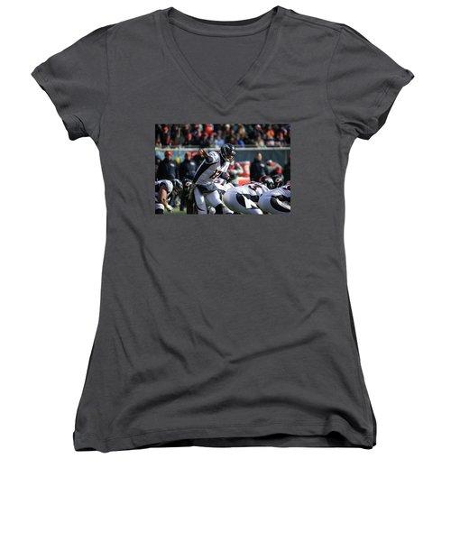 Denver Broncos Women's V-Neck