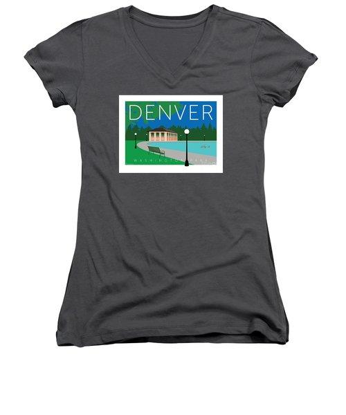 Denver Washington Park Women's V-Neck