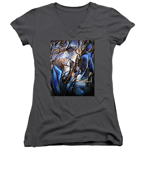 Depth Women's V-Neck T-Shirt
