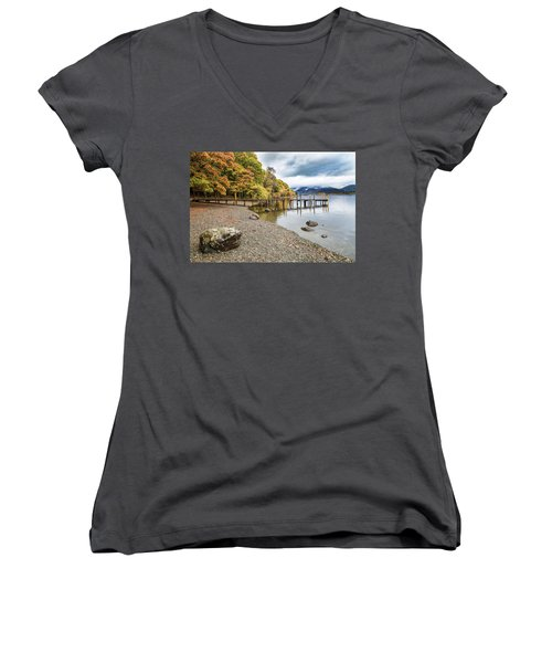 Derwent Jetty Women's V-Neck