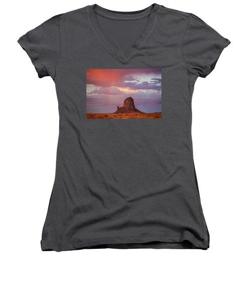 Desert Rainbow Women's V-Neck