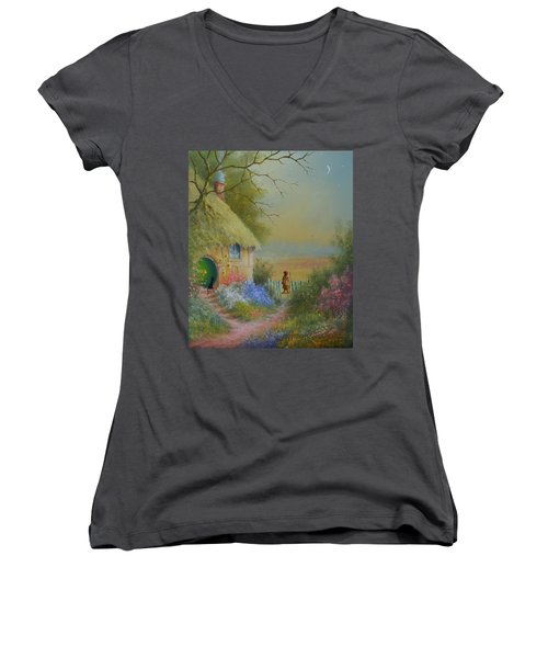 Through The Gate Women's V-Neck (Athletic Fit)