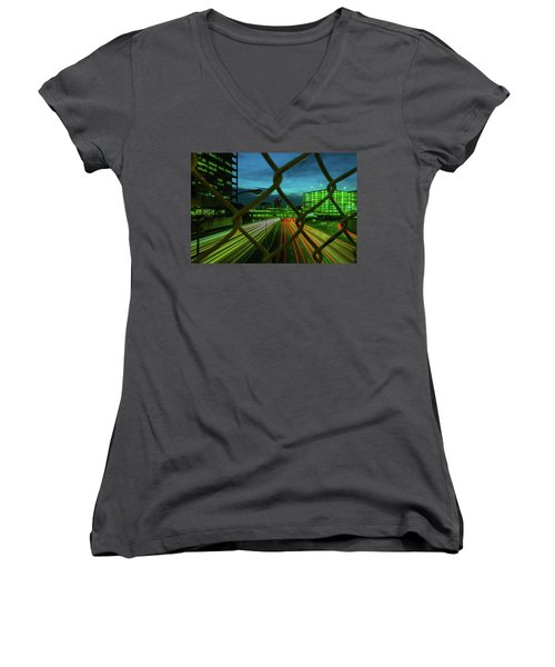 Different Is Ok Women's V-Neck