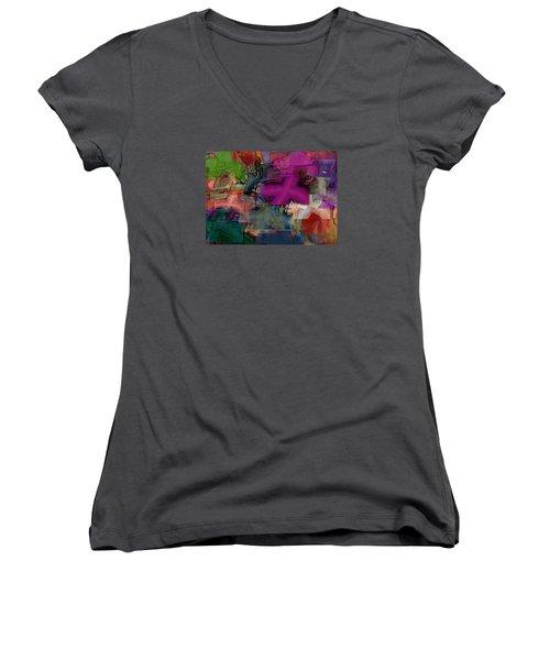 Digital Fun No.1 Women's V-Neck T-Shirt